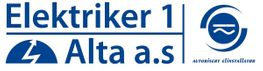 Logo, Elektriker 1 Alta AS